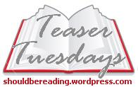 kisses, love & hand fed bacon goodness - Teaser Tuesdays No.22