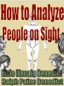 Benedict_HowToAnalyzePeopleOnSight